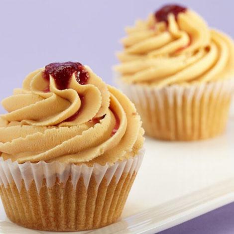 PeaNOT butter cupcakes